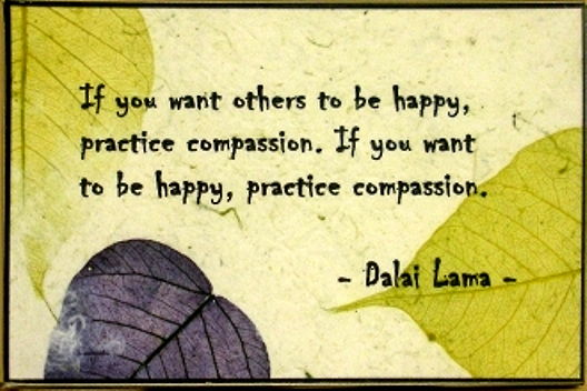 Compassion for others and self